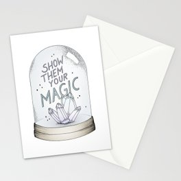 Show them your magic Stationery Cards