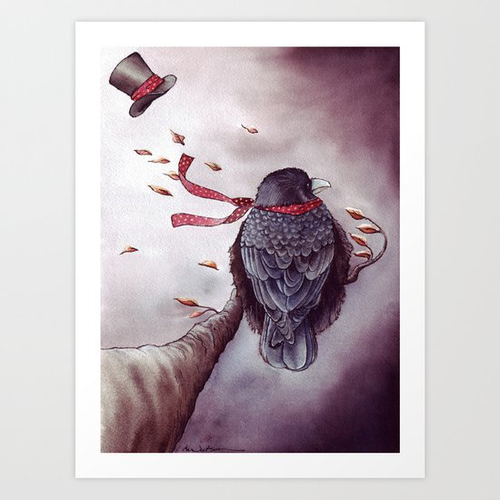 The Storm is Coming Art Print