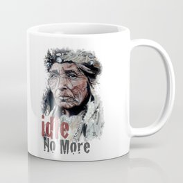 old First Nation woman Coffee Mug