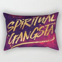 Spiritual Gangsta Rectangular Pillow