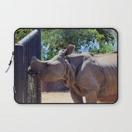 Hungry Hungry Rhino Laptop Sleeve