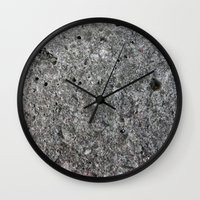 concrete Wall Clocks featuring concrete by Seed Margarita
