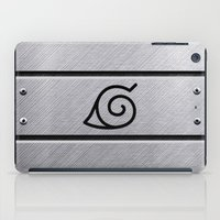 naruto iPad Cases featuring Naruto Headband by Kesen