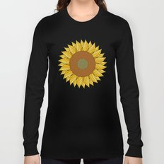 SUNNY DAY (abstract flowers) Long Sleeve T-shirt