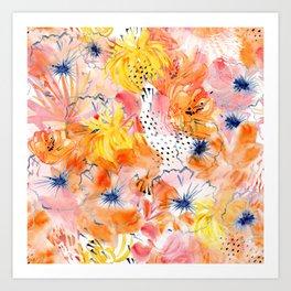 Spring in Sydney Art Print