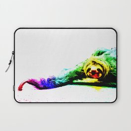 A Smiling Sloth II Laptop Sleeve