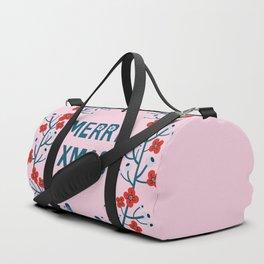A Scandinavian Christmas - berries & flora Duffle Bag
