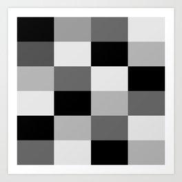 sjene Art Print