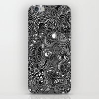 trip iPhone & iPod Skins featuring Trip by Hugo F G