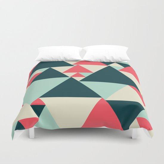 Triangular Pattern  Duvet Cover