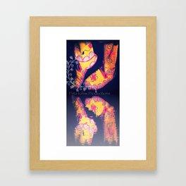 Beaded Moccasins Framed Art Print
