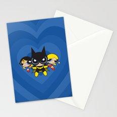 Supertough Girls Stationery Cards