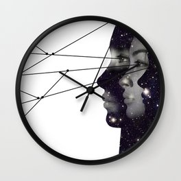 Triple Connection Wall Clock