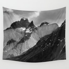 Patagonian Mountains Wall Tapestry