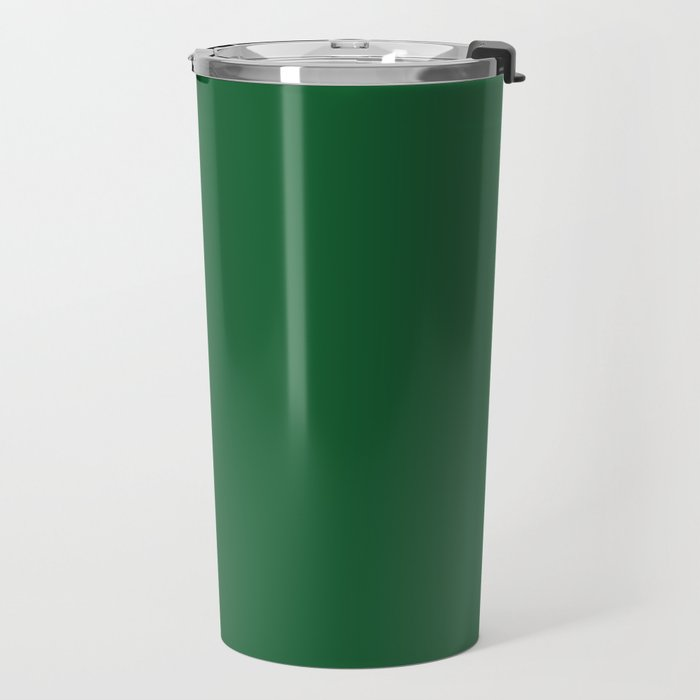 Green Bay Football Team Green Solid Mix and Match Colors Travel Mug