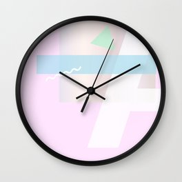Geometric Calendar - Day 8 Wall Clock