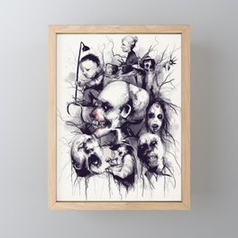 Scary Stories To Tell In The Dark Framed Mini Art Print