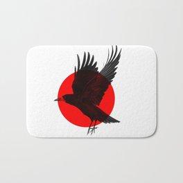 Red Raven Bath Mat