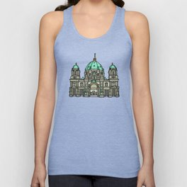 Berlin Cathedral Unisex Tank Top