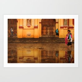 Catedral de SanCris Art Print