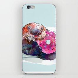 Otter Donut iPhone Skin