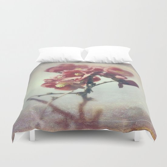 I dreamed a flower garden Duvet Cover