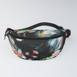 Japanese Water Garden Fanny Pack