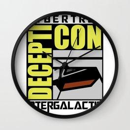 Decepti-Con Wall Clock