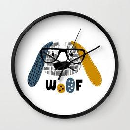 Woof Wall Clock