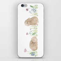 bunnies iPhone & iPod Skins featuring Bunnies by Yardia