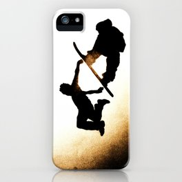 Free Fall I iPhone Case