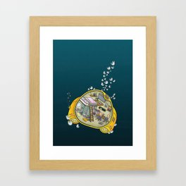 Abyssopelagic Zone Framed Art Print