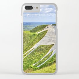 The White Horse. Clear iPhone Case