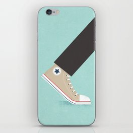 Awful Lot of Running – Natural  iPhone Skin