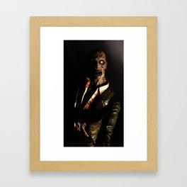 Need Coffee Framed Art Print