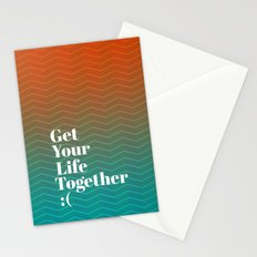 Get Your Life Together Stationery Cards