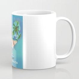 South Africa Illustrated print. Coffee Mug