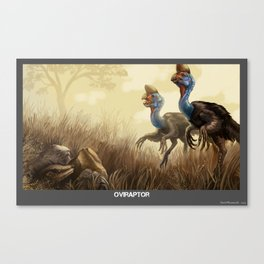 Oviraptor Canvas Print
