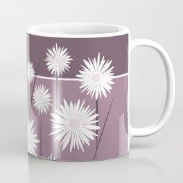 Purple Daisy Leggings Coffee Mug
