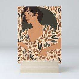 Fall Lover (Beige) Mini Art Print