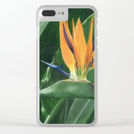 Simply Elegant by Teresa Thompson Clear iPhone Case