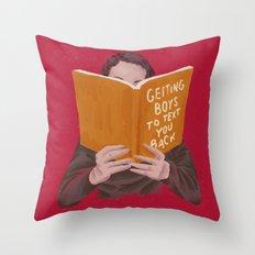 Studying (Gender Swap) Throw Pillow