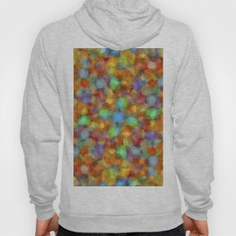 Abstract Watercolour Bubbly Pattern Hoody