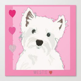 West Highland Terrier Canvas Print