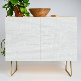 Gray Weathered Wood Credenza