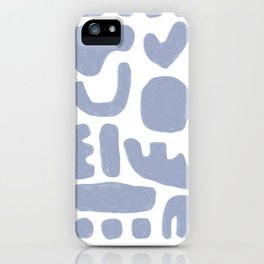 Rock Collection Periwinkle iPhone Case