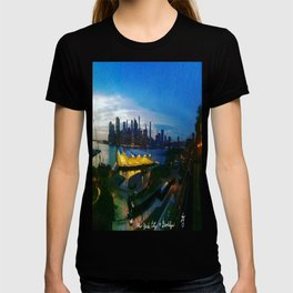 New York City as viewed from the Beautiful Brooklyn Heights T-shirt