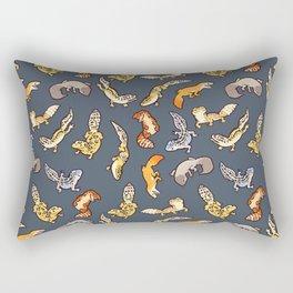 Geckos in black Rectangular Pillow