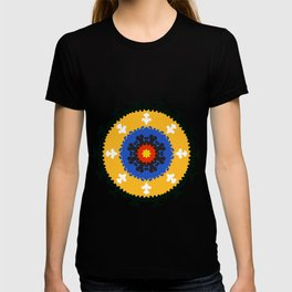 Bold and bright beauty of suzani patterns ver.8 T-shirt