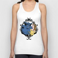 beauty and the beast Tank Tops featuring Beauty and Beast by Don Calamari
